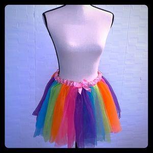 Rainbow Skirt/Tutu/Petticoat